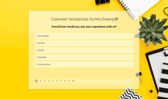 Customer Satisfaction Survey Preview
