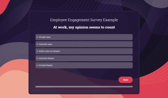 Employee Engagement Survey Preview